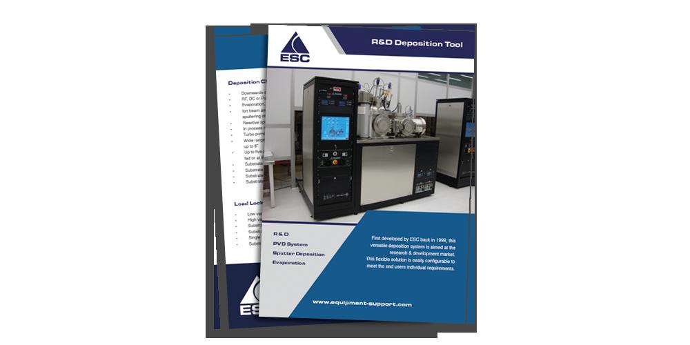 ESC - R&D Deposition Tool Brochure