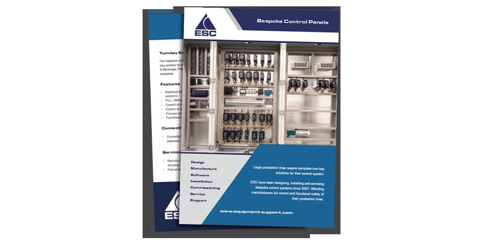 Equipment Support - Bespoke Control Panel - Brochure Download