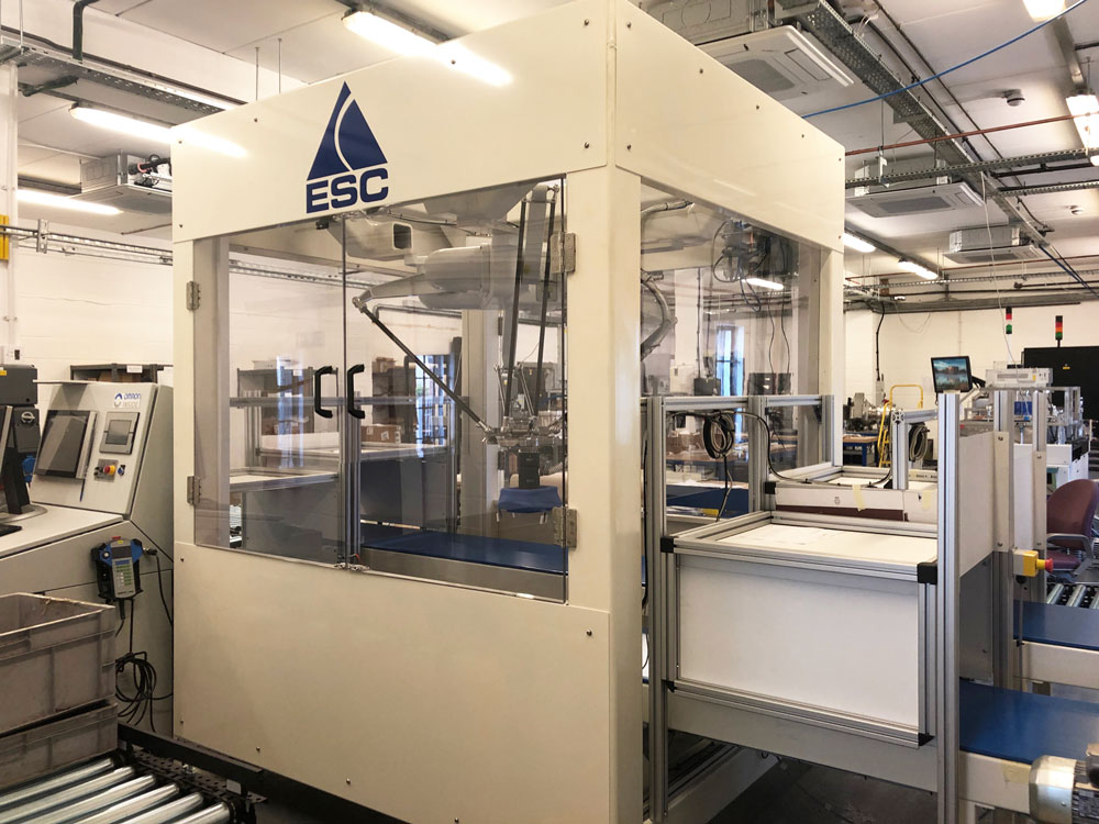 Equipment Support - Robot Cell - Pick & Place Packing