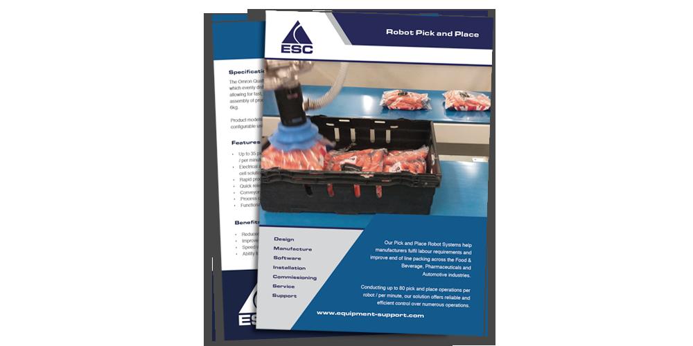 ESC - Pick & place robot - brochure download