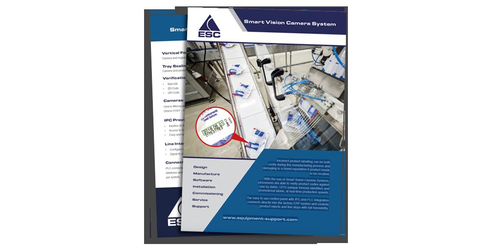 ESC - Vision camera system - brochure download